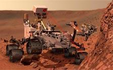 """美国""""好奇号""""登陆火星首次试车(VIP)"""