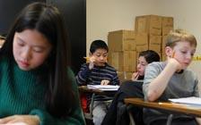 中学竞争激烈纽约小学生争进培训班