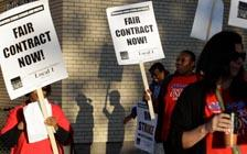 芝加哥公立学校教师闹罢工