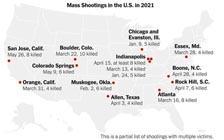 盘点2021年美国大规模枪击案(VIP)